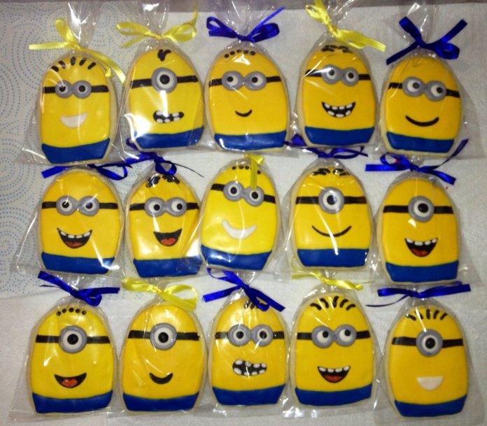 festa-infantil-minions-cookies