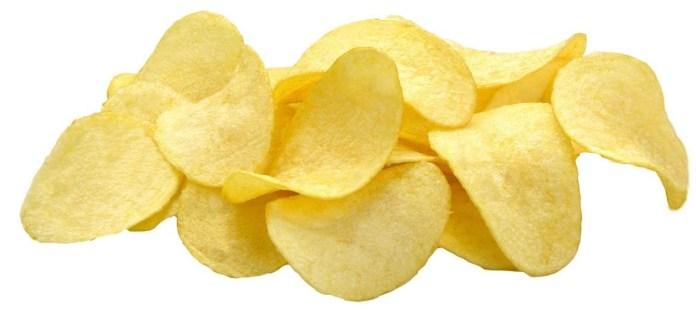 Pirâmide alimentar infantil chips