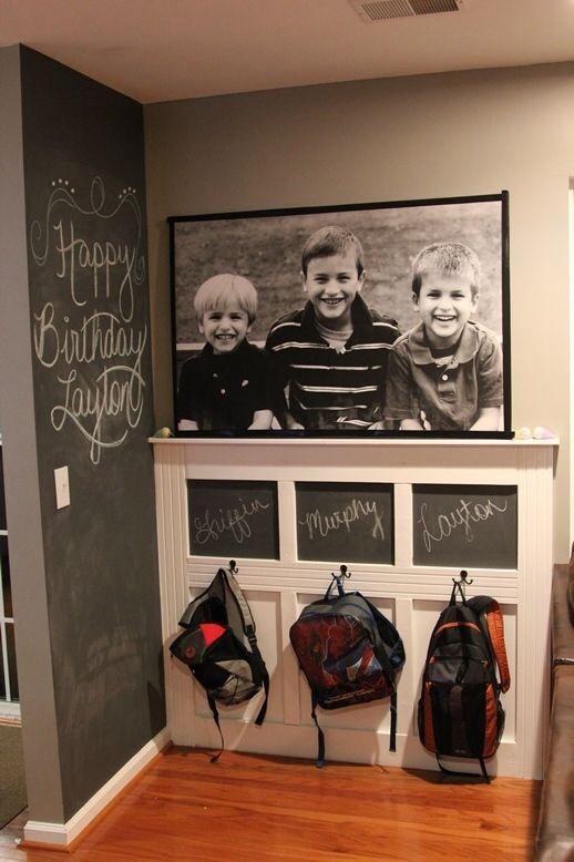 quarto infantil parede de lousa mood