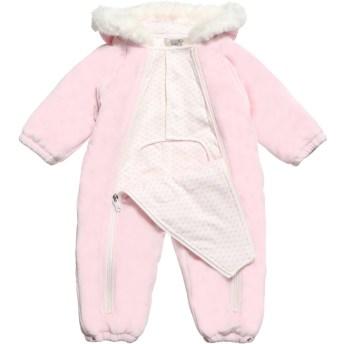 bebê boutique macacão rosa armani