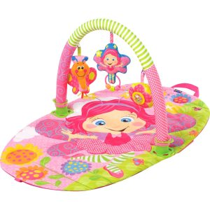 brinquedos-para-bebês-tapete-ginásio-rosa