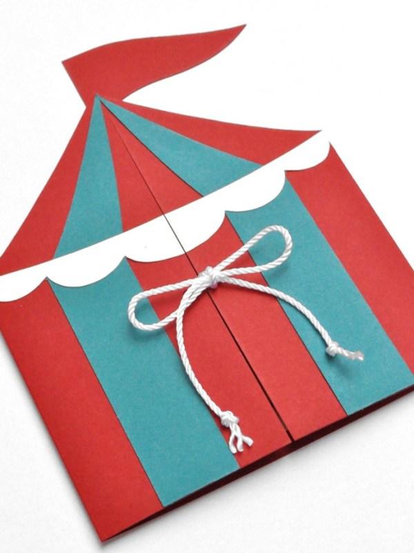 convite de aniversário circo