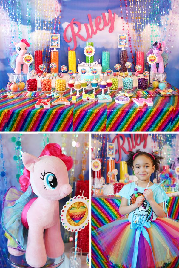 festa infantil my litlle poney mesa completa