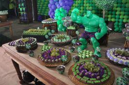 festa infantil vingadores hulk