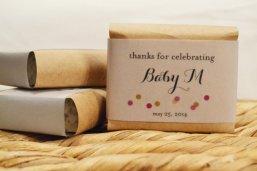 lembrancinhas chá de bebê sabonete