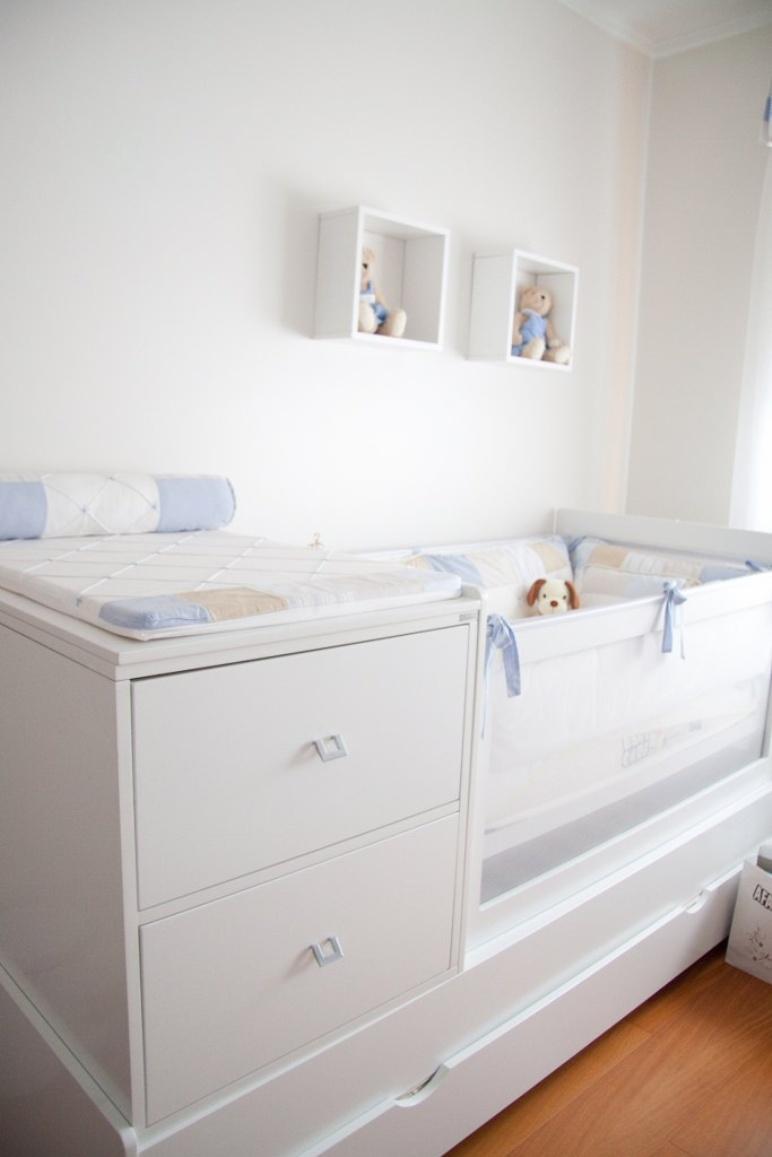 5 Ideias Para Quarto De Beb Pequeno Solu O Certa  ~ Decoracoes De Quarto De Bebe E Organizar Quarto Pequeno