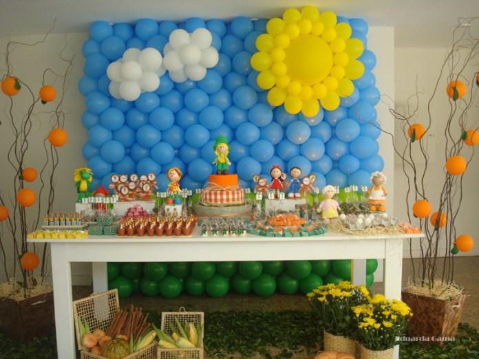 decoracao-festa-sitio-do-pica-pau-amarelo