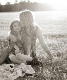 dicas para tirar fotos mãe e filha picnic