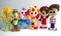 festa infantil bonecos kit turma barato