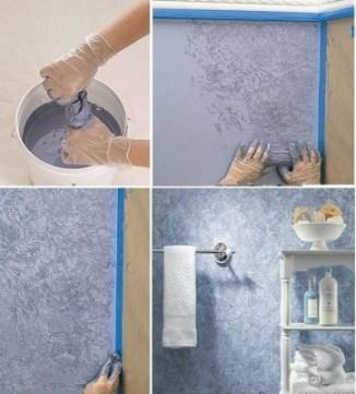 papel de parede PINTURA banheiro