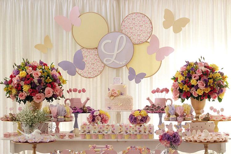 f158e2838 Inspiração para festas de aniversário de um ano para meninas