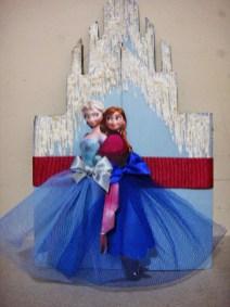 convite frozen castelo
