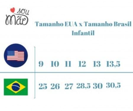 tamanho EUA X tamanho Brasil
