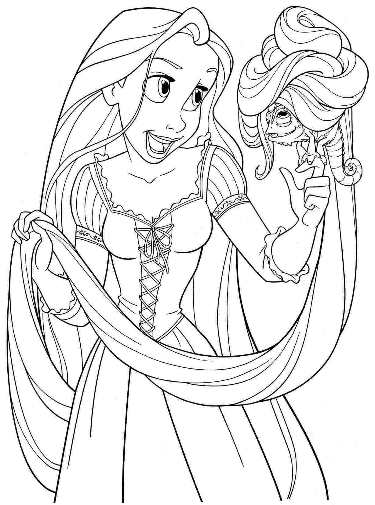 desenhos-para-colorir-princesa-rapunzel