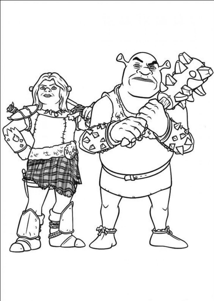 cartoon-shrek-coloring-pages-730x1024
