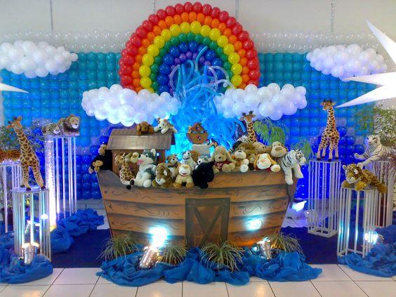 Festa infantil evangélica: Arca de Noé
