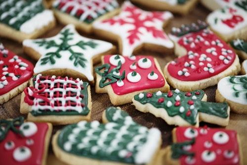 Receitas de Natal: biscoitos decorados