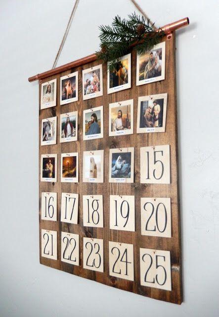 natal: ideias de calendário do advento
