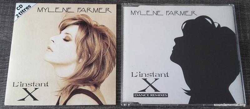 Mylène Farmer - L'instant X (Pressage standard) + CD maxi