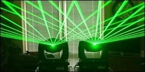 laser hire