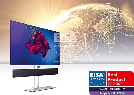 EISA 19/20: Home Theater Video & Audio Products of the Year