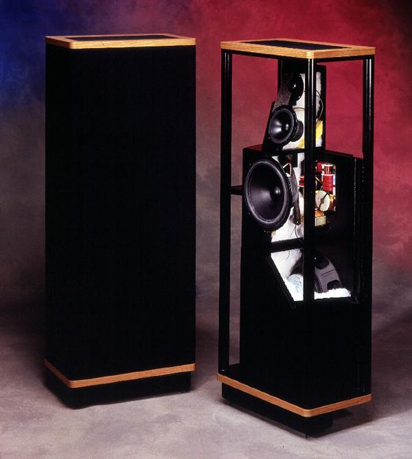 Vandersteen Model 2 Speaker Sound Amp Vision