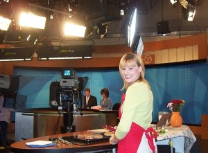 On the TV set at ABC