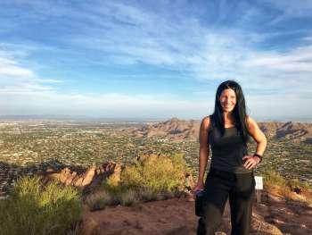Heather at Camelback Mountain