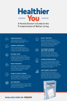 Healthier You: A Family Doctor's Guide to the Fundamentals of Better Living, by Dr. Vineet Nair: Downloadable Poster