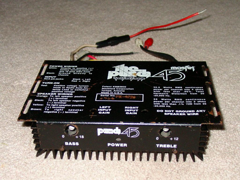 Rockford Fosgate Car Audio