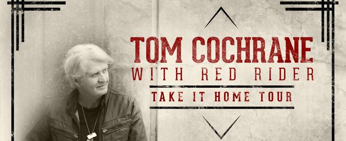 Tom Cochrane -TourBanner