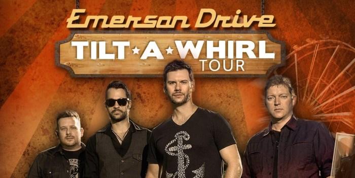Emerson Drive Tilt-A-Whirl Tour featuring Jordan McIntosh