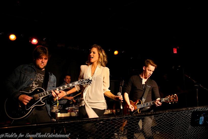 Leah Daniels @ Boots and Bourbon - CMW - Photo: Trish Cassling