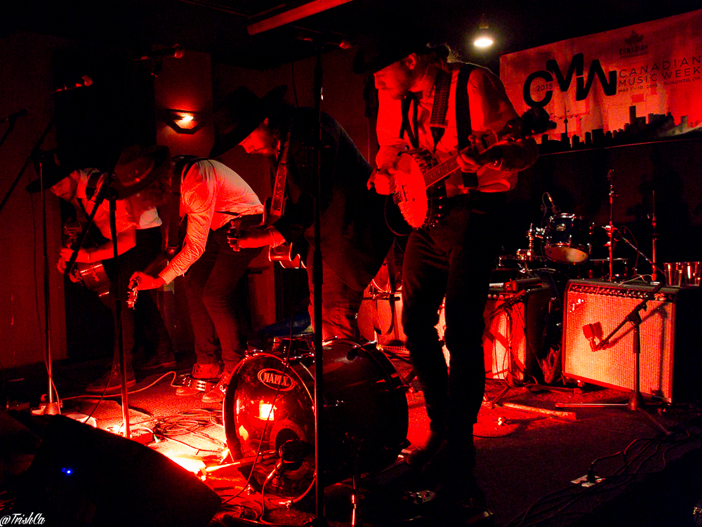 The Dead South CMW2015 Smiling Buddha-