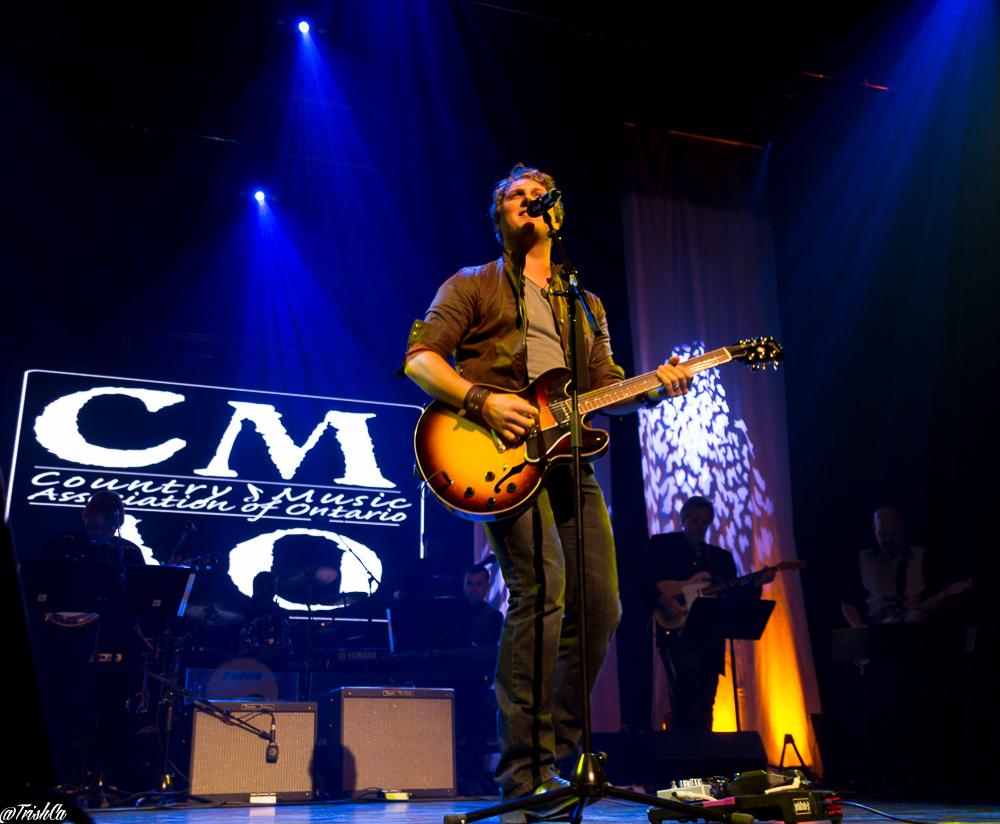 Jason Blaine - CMAO Awards 2015 - Photo: Trish Cassling