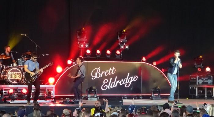 Brett Eldredge - Molson Ampitheatre - Toronto - June 6 - Photo: Corey Kelly