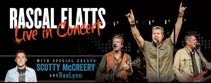 Riot Tour - Rascal Flatts, Scotty McCreery  RaeLynn