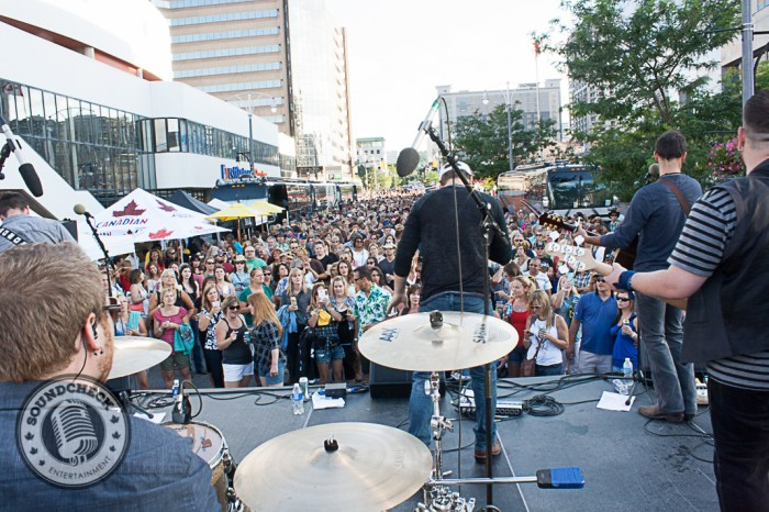 River Town Saints play @ Kenny Chesney Street Party hosted by KX 94.7 - Photo: Ray Williams