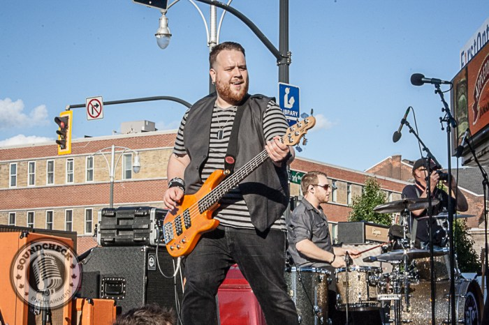 River Town Saints play the Kenny Chesney Street Party in Hamilton - Photo: Ray Williams