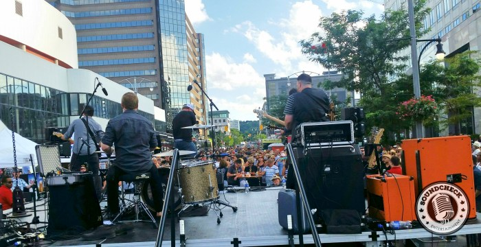 River Town Saints rock the Kenny Chesney Street Party - Photo: Corey Kelly