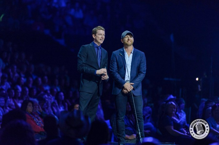 Paul McGuire & Tim Hicks Present at the 2015 CCMA Awards - James Batten Photography-1