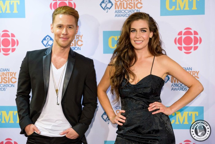 Autumn Hill arrive at the 2015 CCMA Awards in Halifax - James Bennett Photography