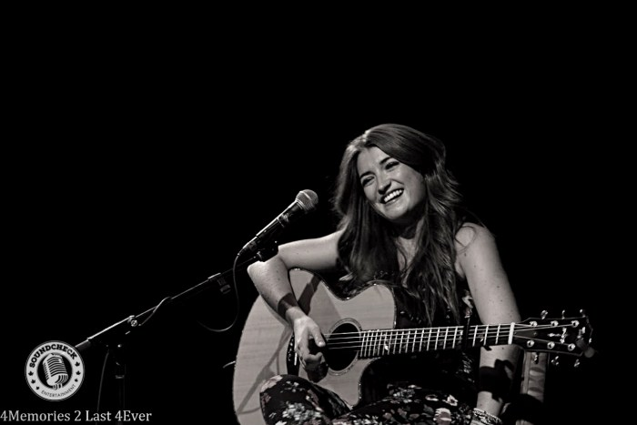 Tenille performs at CCMA Songwriters Photo: Sophie Pyne