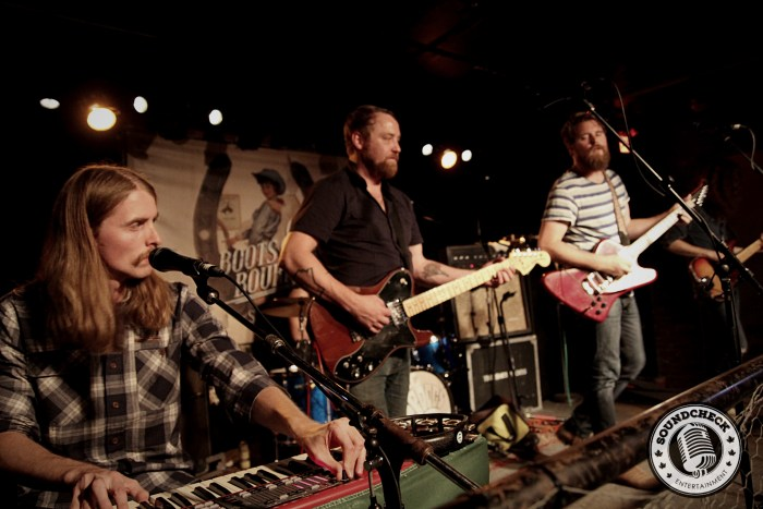 The Sheepdogs perform to a packed house in Toronto for their CD Release Party - Photo: Corey Kelly