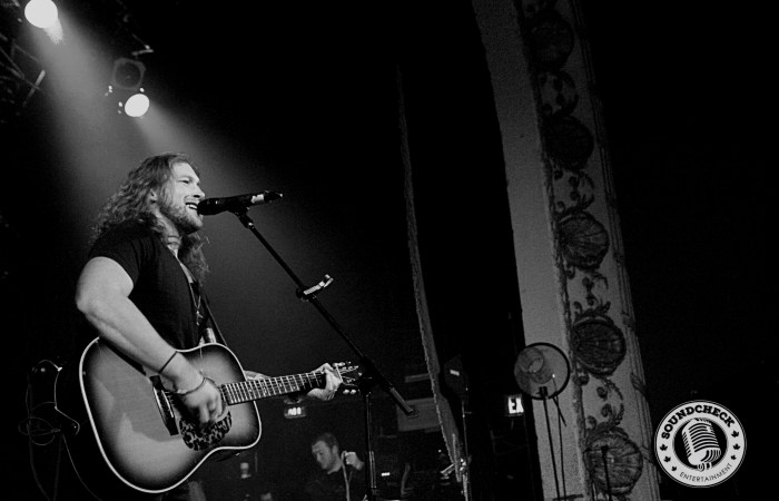 Cory Marquardt rocks the Opera House Stage in Toronto - Corey Kelly