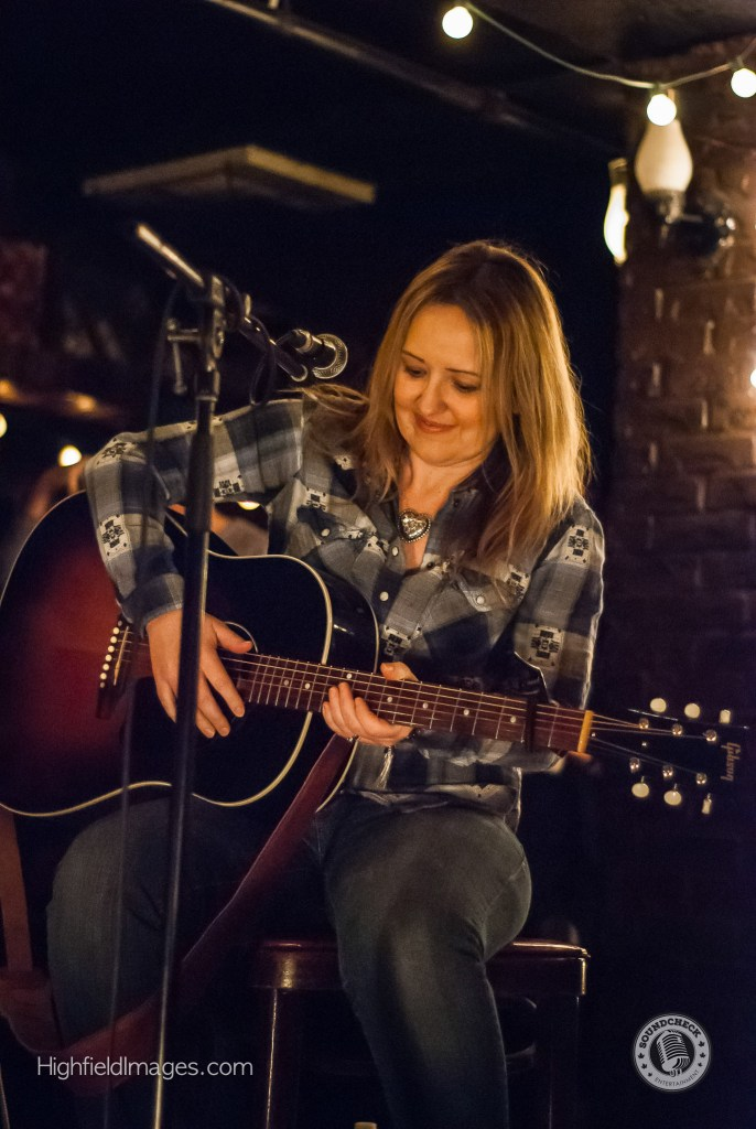 Andrea performs at Four Chords and the Truth @ The Dakota Tavern - Photo: Mike Highfield