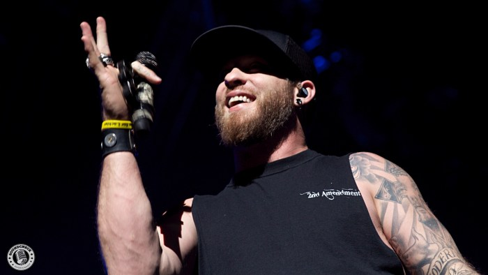 Brantley Gilbert performs during the Blackout Tour stop @ Budweiser Gardens in London, ONT - Photo: Corey Kelly