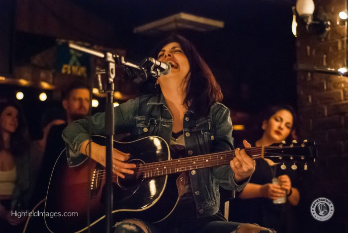 Damhnait Doyle performs at Four Chords and the Truth @ The Dakota Tavern - Photo: Mike Highfield