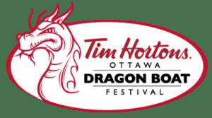 Tim Horton's Ottawa Dragon Boat Festival Logo