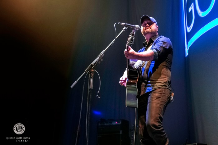 Aaron Goodvin performs in Kitchener at Center In The Square - Photo: Scott Burns